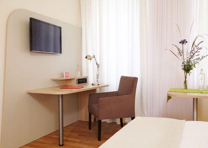 FLOTTWELL BERLIN Hotel - Zimmer-Ansicht - Schreibtisch