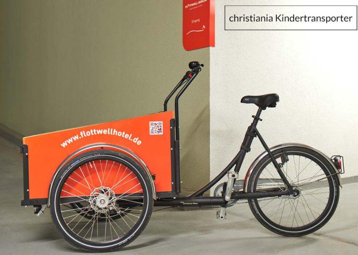 FLOTTWELL BERLIN Hotel - christiania bike