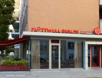 FLOTTWELL BERLIN Hotel & Residenz am Park - Ansicht Eingang