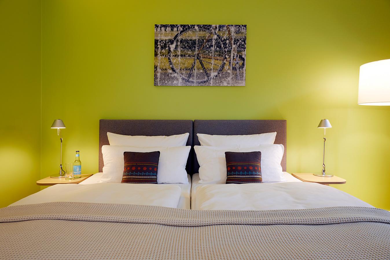 FLOTTWELL BERLIN Hotel - Grünes Zimmer - 2. Etage