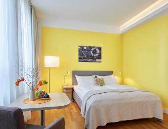 FLOTTWELL BERLIN Hotel - Gelbes Zimmer - 3. Etage