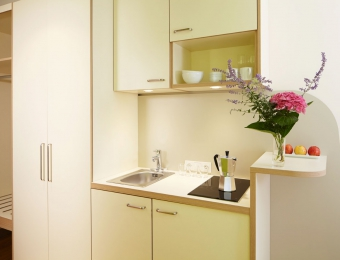 FLOTTWELL BERLIN Hotel - Kitchenette