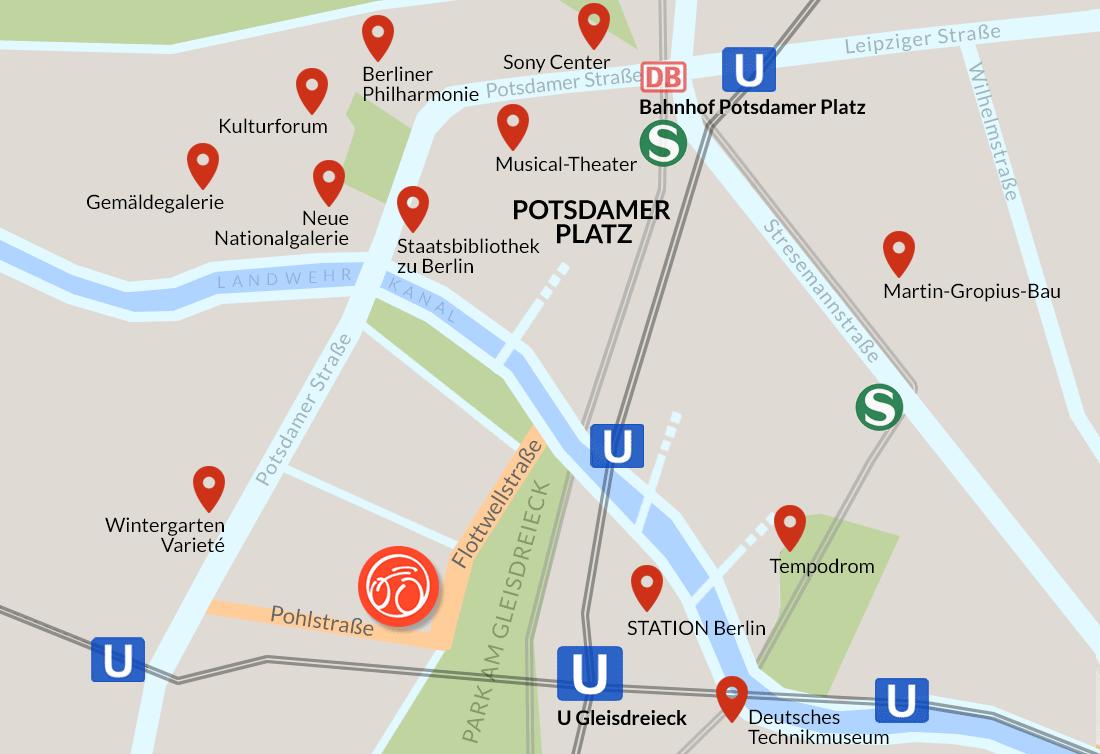 FLOTTWELL BERLIN Hotel - Zentrale Lage