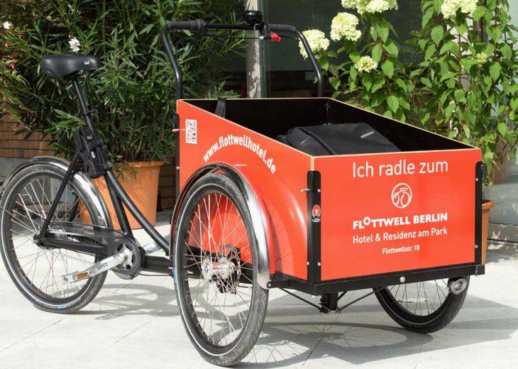 FLOTTWELL BERLIN Hotel – Fahrradverleih