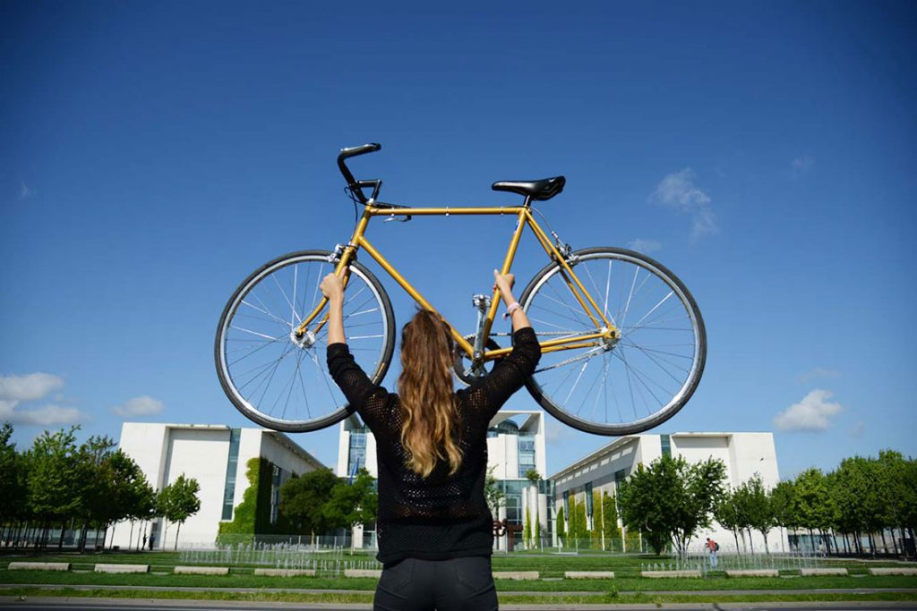 FLOTTWELL BERLIN Hotel - Fahrradstadt Berlin - Kanzleramt