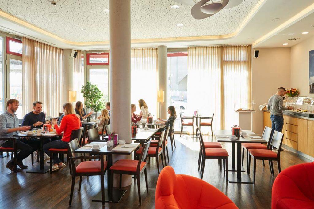 FLOTTWELL BERLIN Hotel - Frühstücksraum