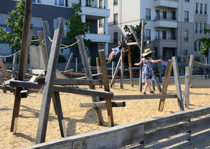 FLOTTWELL BERLIN Hotel - Park am Gleisdreieck - Spielplatz