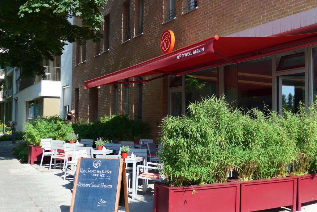 FLOTTWELL BERLIN Hotel - Hotel-Terrasse