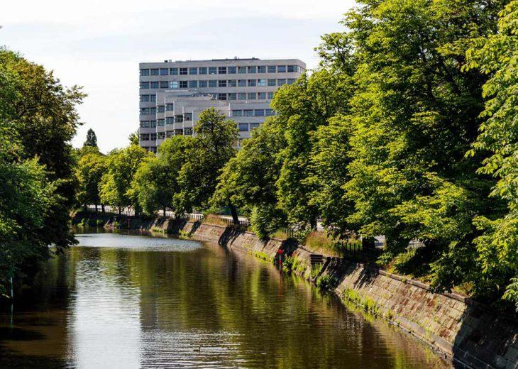 FLOTTWELL BERLIN Hotel - Umgebung - Landwehrkanal