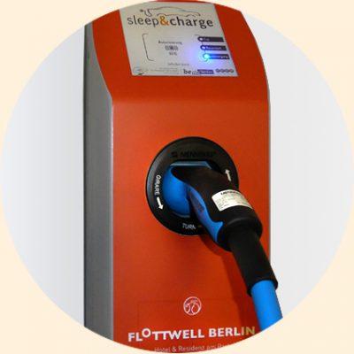 FLOTTWELL BERLIN Hotel - Ladestation Elektroautos