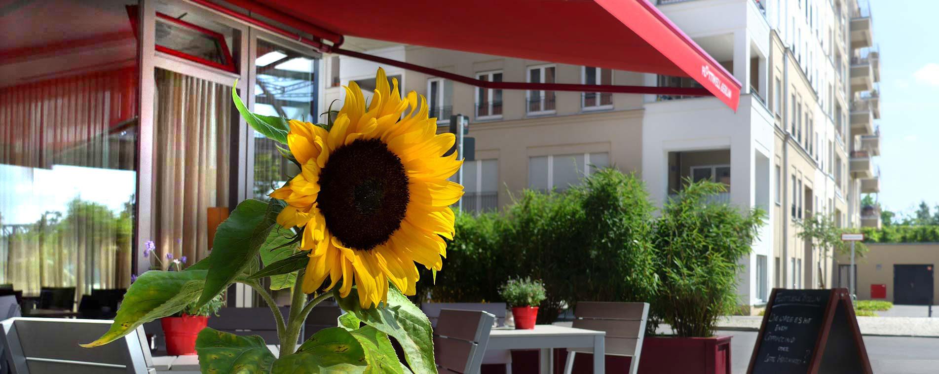 FLOTTWELL BERLIN Hotel - Terrasse - Sommer 2020