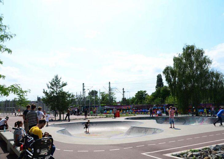 FLOTTWELL BERLIN Hotel - Park am Gleisdreieck - Skater arrangement