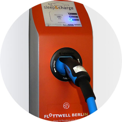 FLOTTWELL BERLIN Hotel - Charging points for electric cars